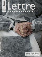 Cover Lettre International 131, Antoine D'Agata