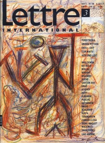Cover Lettre International 3, A.R. Penck