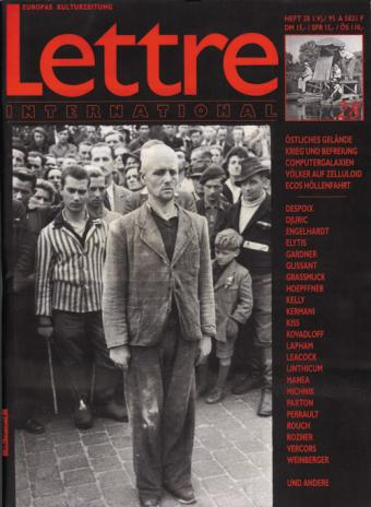 Cover Lettre International 28, Henri Cartier-Bresson
