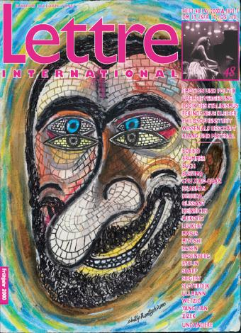 Cover Lettre International 48, Philip Rantzer