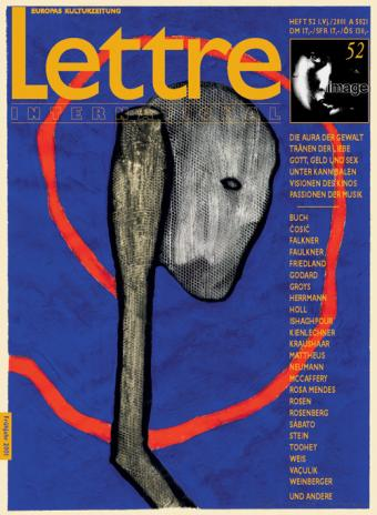 Cover Lettre International 52, Max Neumann