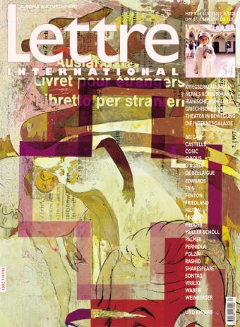 Cover Lettre International 54, Alexander Polzin