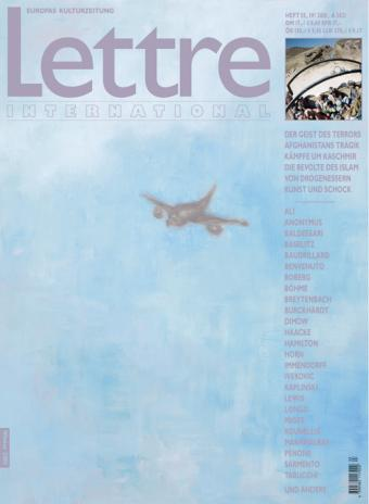 Cover Lettre International 55, Roberto Cabot