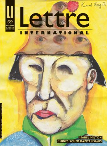 Cover Lettre International 69, Breyten Breytenbach