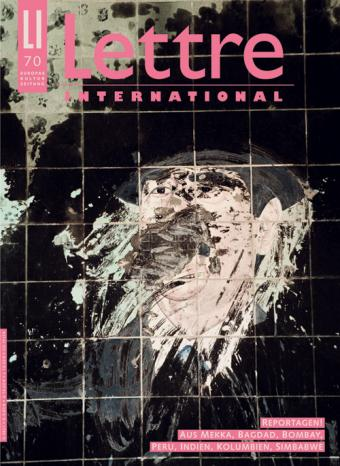 Cover Lettre International 70, Abbas