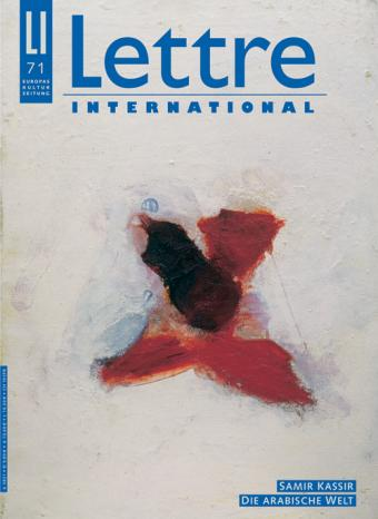 Cover Lettre International 71, Mark Lammert