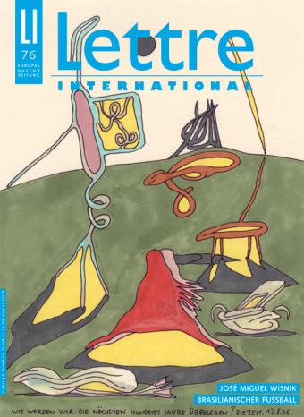 Cover Lettre International 76, Anne-Mie van Kerckhoven