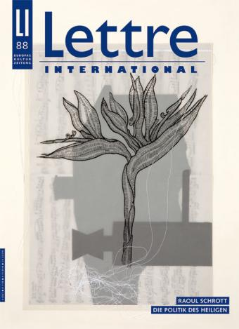 Cover Lettre International 88, Joseph Semah