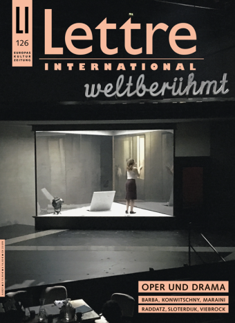 Cover Lettre International, Viebrock