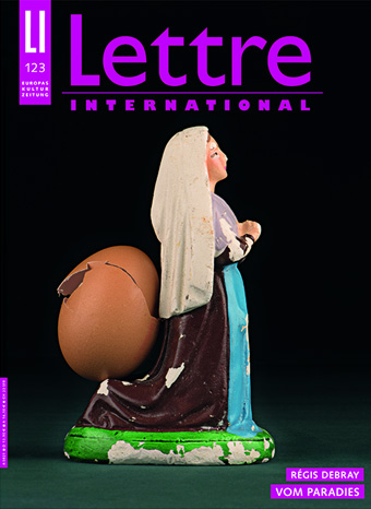 Cover Lettre International, Magali Lambert