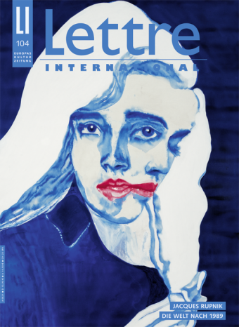 Cover Lettre International, Adriana Molder