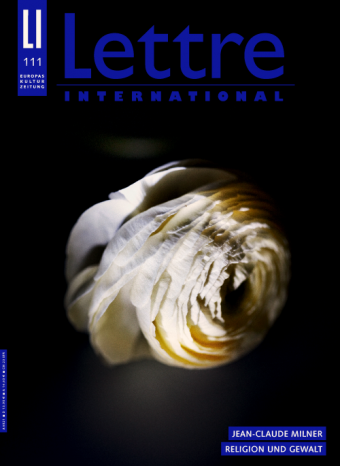 Cover Lettre International, Paolo Pellegrin
