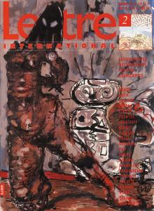 Cover Lettre International 2, Markus Lüpertz