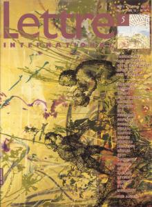 Cover Lettre International 5, Sigmar Polke
