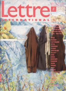 Cover Lettre International 8, Ilja Kabakov