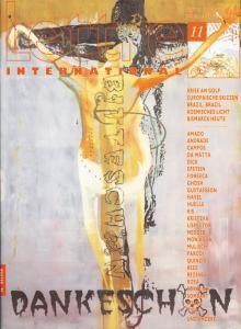 Cover Lettre International 11, Martin Kippenberger