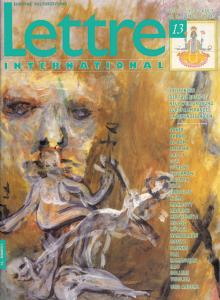 Cover Lettre International 13, Martin Disler