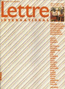 Cover Lettre International 29, Emmett Williams