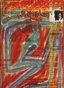 Cover Lettre International 31, Nusret Pasic