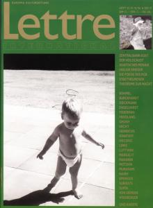 Cover Lettre International 35, Gerhard Richter