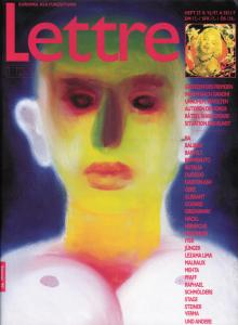 Cover Lettre International 37, Miriam Cahn