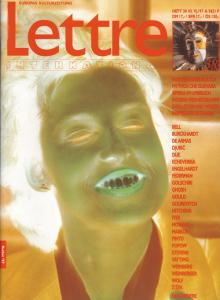 Cover Lettre International 38, Esther & Jochen Gerz