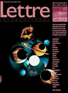 Cover Lettre International 43, Giulio Paolini