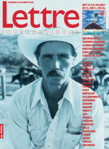 Cover Lettre International 45, Rainer Leist