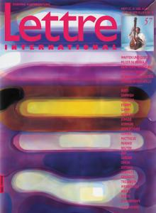 Cover Lettre International 57, Peter Zimmermann