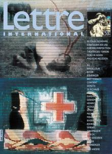 Cover Lettre International 58, Laszlo Kerekes