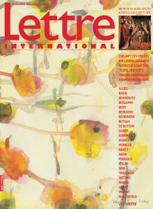 Cover Lettre International 59, Bernd Koberling
