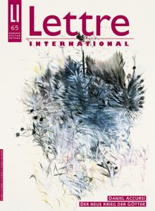 Cover Lettre International 65, Dennis Gün
