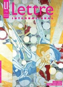 Cover Lettre International 79, Endy Hupperich