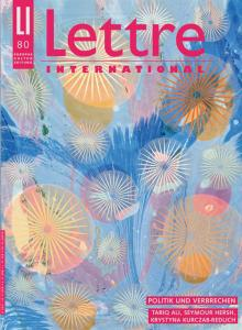 Cover Lettre International 80, Philip Taaffe