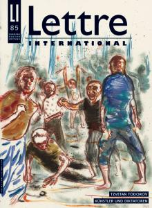Cover Lettre International 85, Daniel Richter