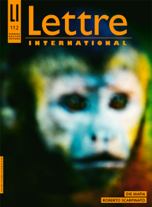 Cover Lettre International, François Fontaine