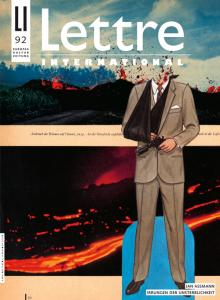 Cover Lettre International 92, Barbara Breitenfellner
