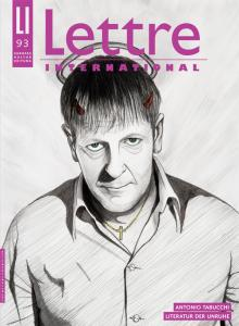 Cover Lettre International 93, Jan Fabre