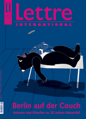 Cover Lettre International 86, Ewa Einhorn
