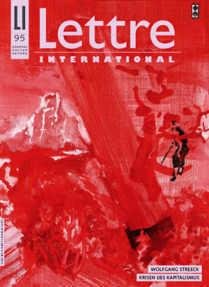 Cover Lettre International 95, Maki Na Kamura