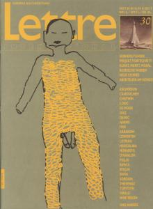 Cover Lettre International 30, Enzo Cucchi