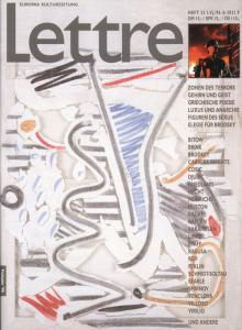 Cover Lettre International 32, Christian Bonnefoi