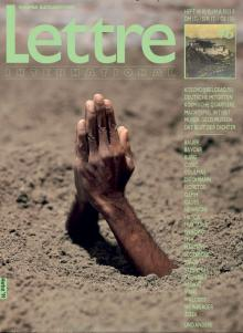 Cover Lettre International 46, Maurizio Cattelan