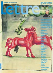 Cover Lettre International 50, Jörg Immendorff