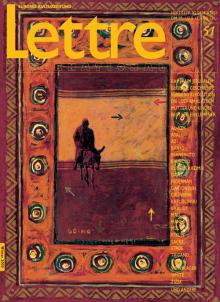 Cover Lettre International 51, Asad Azi