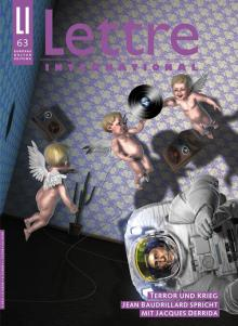 Cover Lettre International 63, Max Grüter