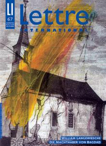 Cover Lettre International 67, Arnulf Rainer