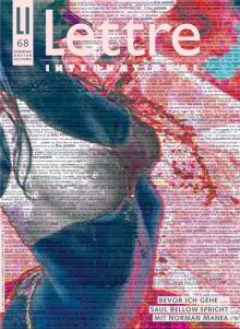 Cover Lettre International 68, Ulay