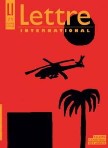 Cover Lettre International 74, David Reeb