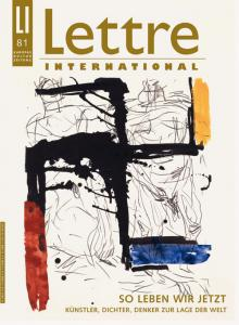 Cover Lettre International 81, Georg Baselitz